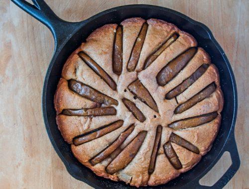 Baked Skillet Cake