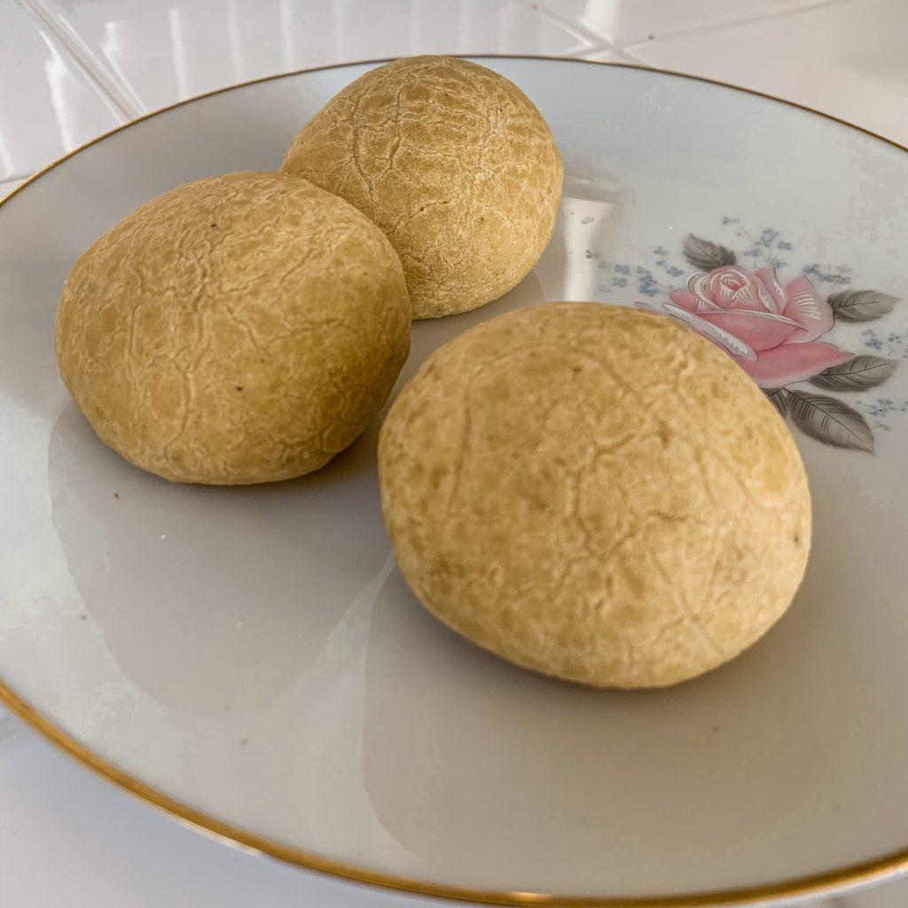 Tapioca Rolls on a plate