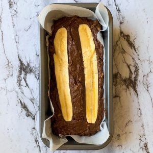 Banana Bread in a loaf tin